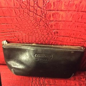 AUTHENTIC COACH SMALL COSMETIC BAG